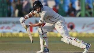 Mitchell Santner dismissed for 71 by Ravichandran Ashwin on Day 5 of 1st Test vs India