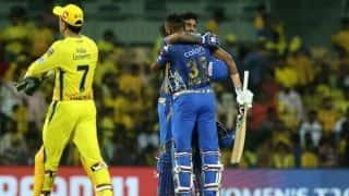 VIDEO: चेन्नई को हराकर मुंबई ने फाइनल में किया प्रवेश