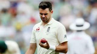जेम्स एंडरसन आयरलैंड के खिलाफ होने वाले एक मात्र टेस्ट से बाहर