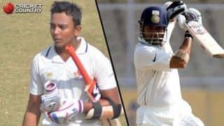 Prithvi Shaw calls his comparison with Sachin Tendulkar a big thing