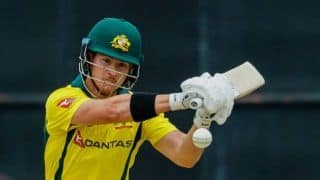 Australian D'Arcy Short records third highest score in one-day cricket