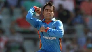 Afghanistan's Rashid Khan becomes youngest to 100 T20 wickets