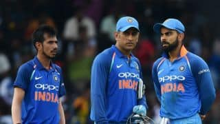 MS Dhoni becomes first wicketkeeper to register 100 ODI stumpings