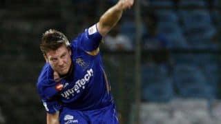 IPL 2014: Steven Smith heaps praise on James Faulkner after Rajasthan Royal's thrilling win over Kolkata Knight Riders