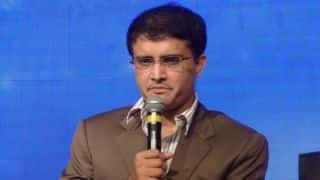 Sourav Ganguly has come to aid of Former cricketer Jacob Martin