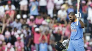 Shikhar Dhawan terms his century on 100th ODI as 'picture-perfect innings'