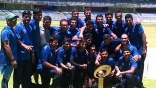 Baroda bowlers seal thrilling 3–run win over Uttar Pradesh to clinch Syed Mushtaq Ali Trophy 2014