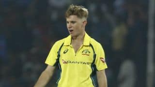 Watch Adam Zampa express disappointment after stone-pelting incident following Guwahati T20I