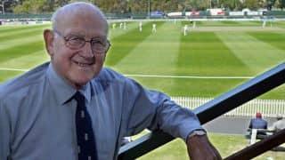 Cricketing world pays tribute to Frank Tyson