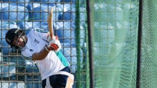 Joe Root was into his shots early during practice, reveals net-bowler
