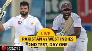 Live Cricket Score, Pakistan vs West Indies, 2nd Test, Day 1: Younus Khan gets to his hundred