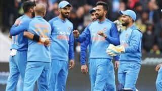 3rd T20I: Krunal Pandya's 4/36 keep Australia to 164/6