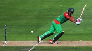Bangladesh off to a slow start against India in quarter-final