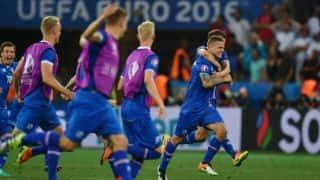 Euro 2016: Iceland beat England 2-1 to reach quarter-finals