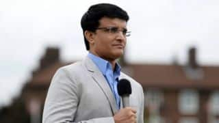 Sourav Ganguly visits Chinnaswamy Stadium, appreciates sub-air system