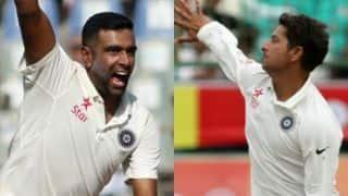 'इंग्लैंड के खिलाफ टेस्ट सीरीज में अश्विन-कुलदीप साथ गेंदबाजी करें'