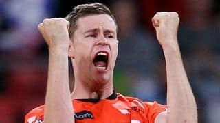 Behrendorff might play abroad to get in shape for Scorchers' BBL campaign
