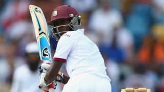 West Indies reeling at 139/7 at tea on Day 2 of 3rd Test against England at Barbados