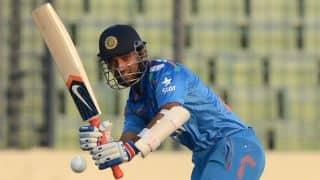 India vs Bangladesh 1st ODI: Robin Uthappa, Ajinkya Rahane off to steady start; score 19/0 in 4 overs