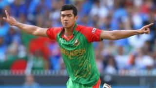 Taskin Ahmed: Never needed major change in my bowling action