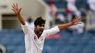 Pakistan vs West Indies, 1st Test, Day 2: Mohammad Aamer shines with 5-for on a rain-hit day
