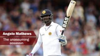 England vs Sri Lanka 2014: Angelo Mathews — The unassuming assassin