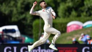 Mark Wood replaces injured Olly Stone in England squad for Windies Tests