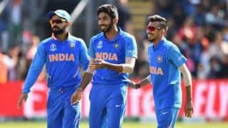 Revealed: Indian cricket team's alternate jersey for ICC World Cup 2019