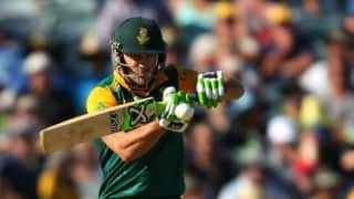 South Africa vs West Indies 2014-15: Faf du Plessis gets quickfire fifty