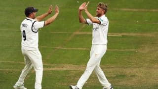 Olly Stone never expected an England call-up