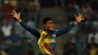 Sri Lanka announce 15-man squad for T20I against India; Jeffrey Vandersay included