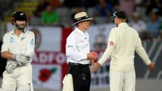 England unhappy after Kane Williamson's run out appeal turned down