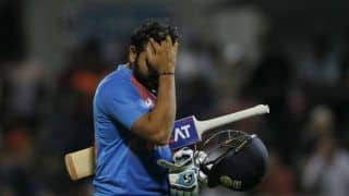 Rohit Sharma: Disappointing to not get to the finishing line
