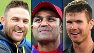 Troll alert: Brendon McCullum is Sehwag's latest victim; Neesham trolls Kanpur roads, Trump