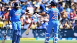 'Camaraderie' key as India's Sharma, Dhawan flay New Zealand
