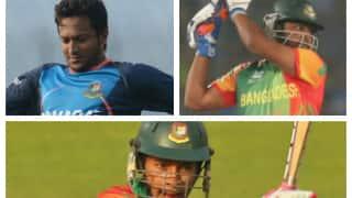 India tour of Bangladesh 2014: Hosts have genuine chance of winning with Shakib Al Hasan, Mushfiqur Rahim and Tamim Iqbal