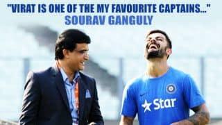 Virat Kohli's captaincy impresses Sourav Ganguly