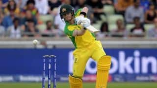 Woakes and Rashid share six, Australia limp to 223 after Smith fifty