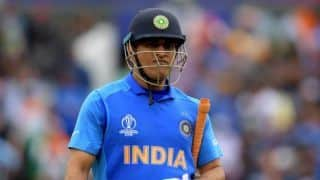 MS Dhoni unavailable for selection; to spend time with his regiment