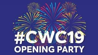 ICC World Cup 2019 Opening Ceremony: Live Streaming: Date, IST Time, Telecast, Celebrity performances