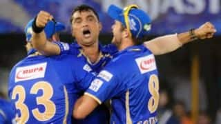 IPL 2014: Rajasthan Royals (RR) vs Kolkata Knight Riders (KKR), Match 25 at Ahmedabad