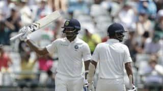 Hardik Pandya, Bhuvneshwar Kumar's record stand keeps India breathing against South Africa on Day 2, tea