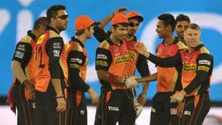 Bhuvneshwar, Mustafizur shine as SRH restrict GL to 126 for 6 in IPL 2016 Match 34