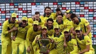 Australia whitewash Pakistan 5-0 in ODI series