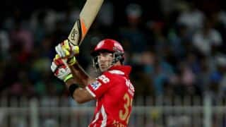 Glenn Maxwell, David Miller's blazing innings help Kings XI Punjab cruise past Rajasthan Royals by 7 wickets in IPL 7