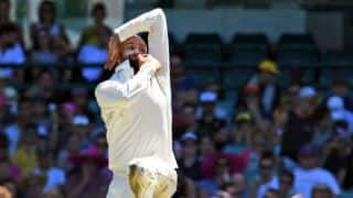 Nathan Lyon joins Worcestershire in place of John Hastings