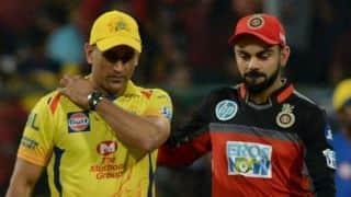 IPL 2018: जीत की लय में वापसी को तैयार चेन्नई, बैंगलोर के सामने प्लेऑफ में बने रहने की चुनौती