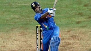 Watch: MS Dhoni hits a six identical to 2011 World Cup-winning moment