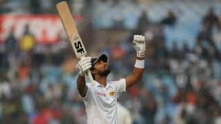 Dinesh Chandimal drags Sri Lanka past follow-on mark against India before stumps, Day 3, 3rd Test