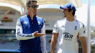 Kevin Pietersen, Alastair Cook involved in heated discussion before Ashes Test at Sydney